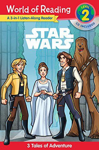 World of Reading: Star Wars Listen Along: Star Wars: 3 World of Reading Level 2 Readers with CD!