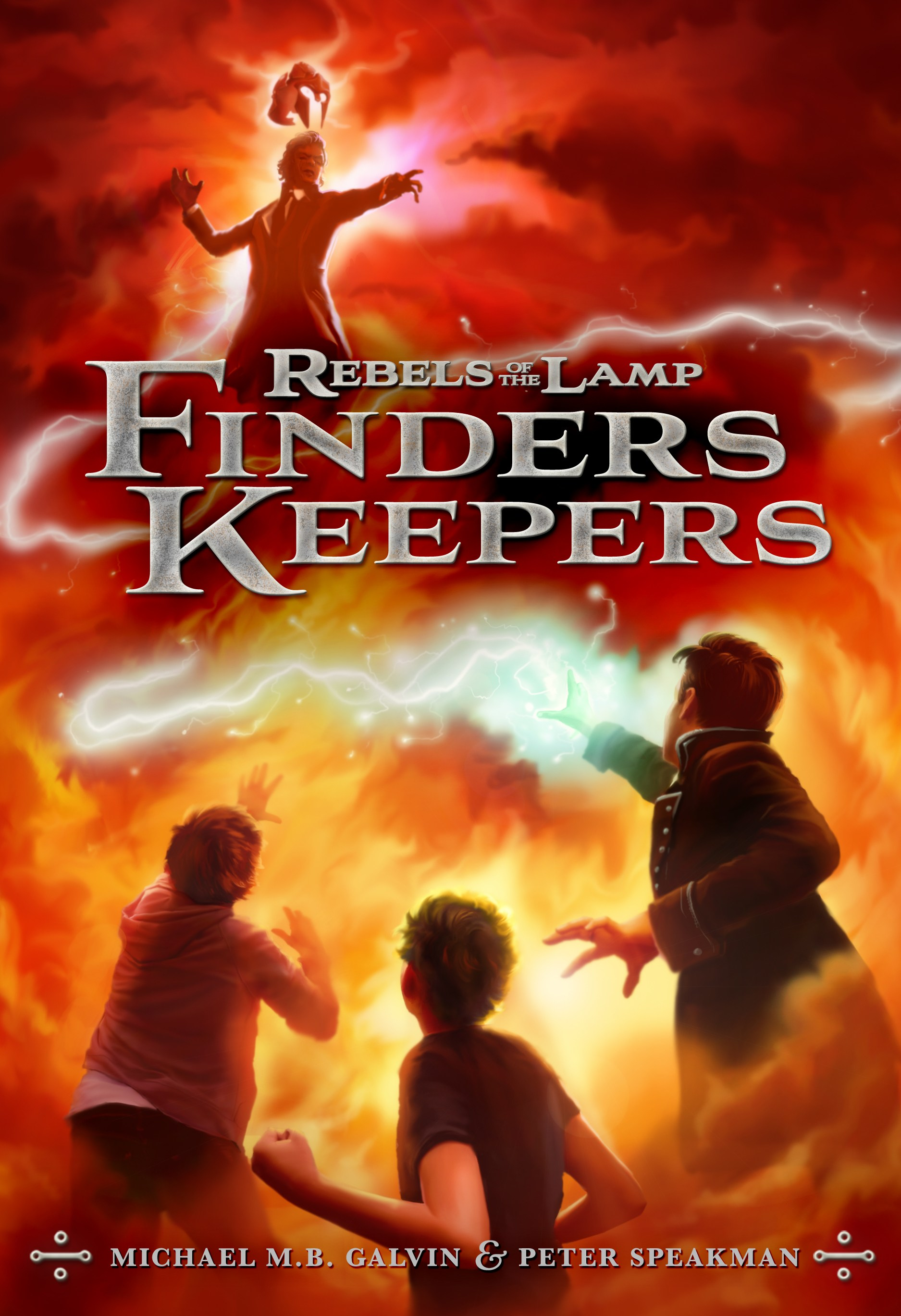 Rebels of the Lamp, Book 2 Finders Keepers