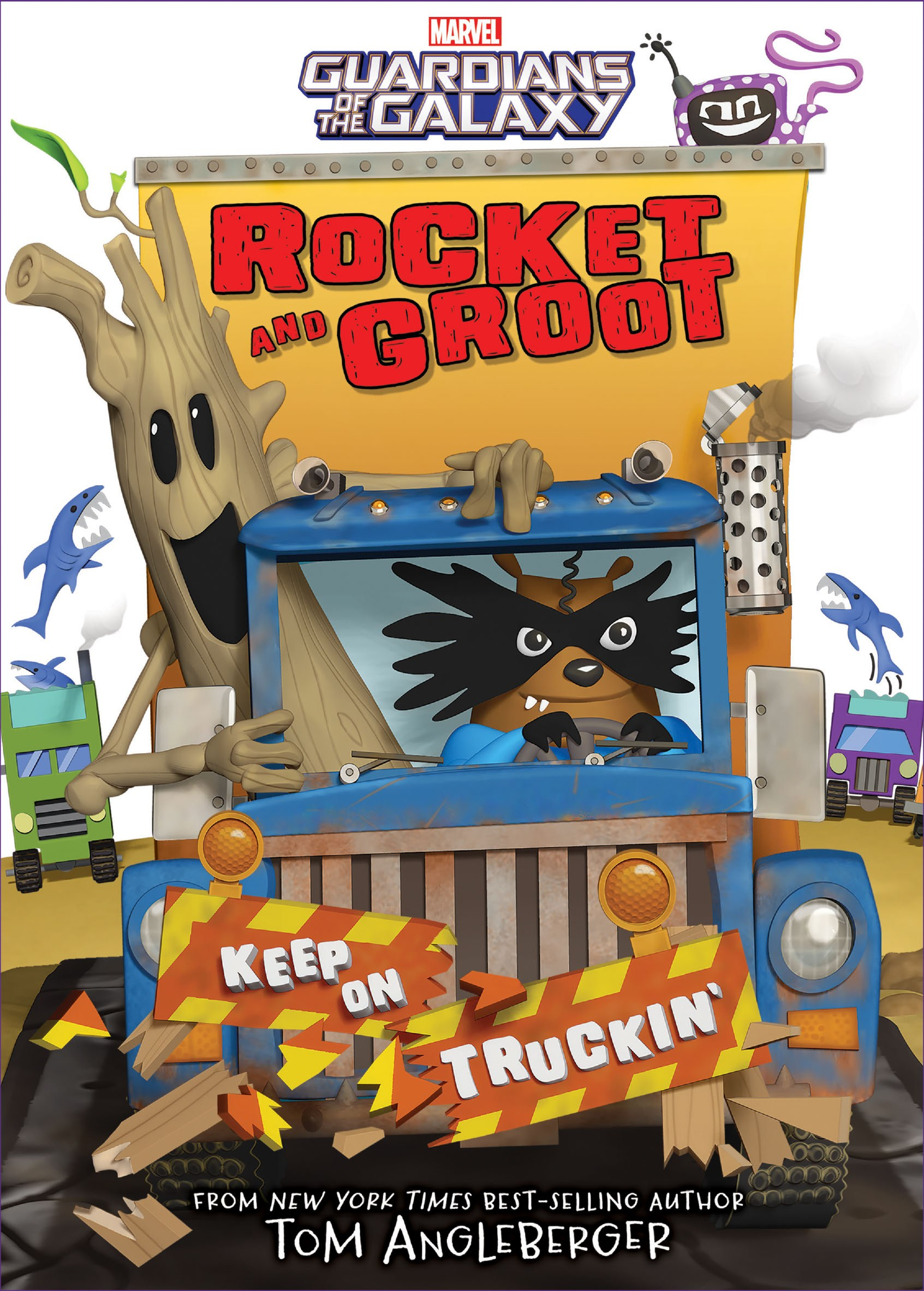 Rocket and Groot: Keep on Truckin'!