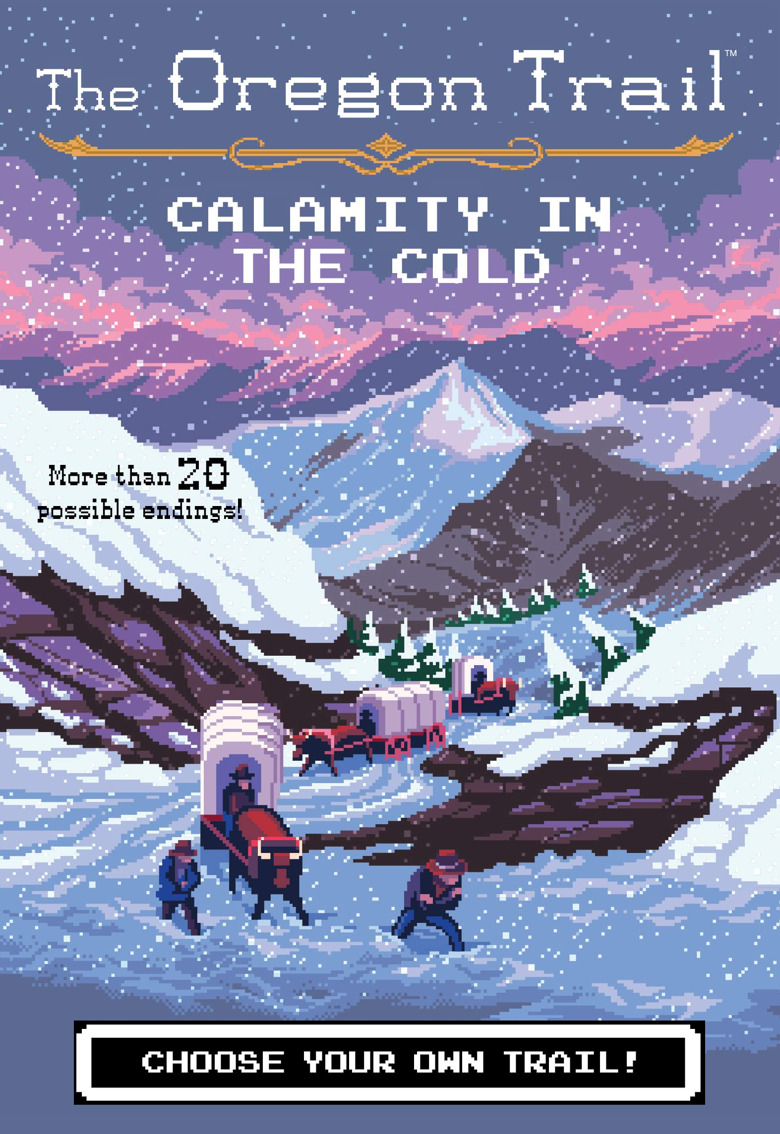 Calamity in the Cold (8) (The Oregon Trail)