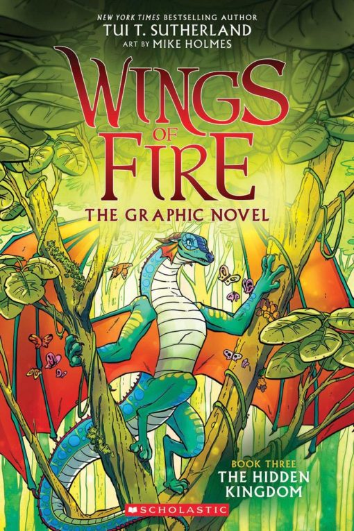 The Hidden Kingdom (Wings of Fire Graphic Novel #3)