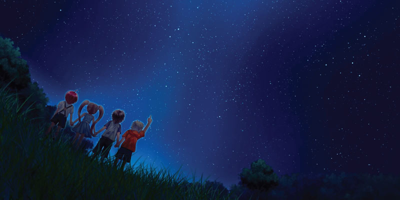Five Ways to Enjoy the Night Sky with Your Kiddos