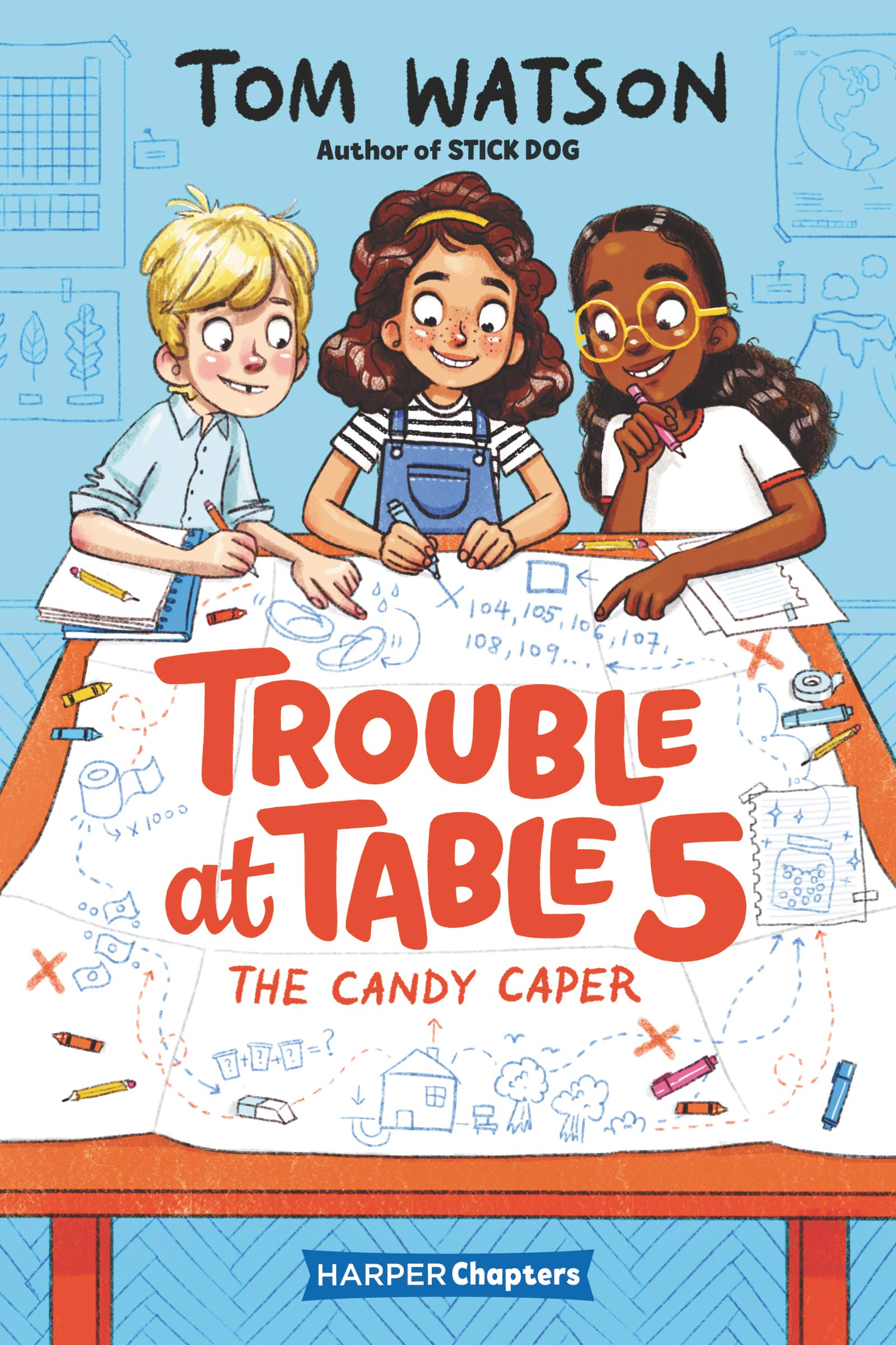Trouble at Table 5 #1: The Candy Caper (HarperChapters)