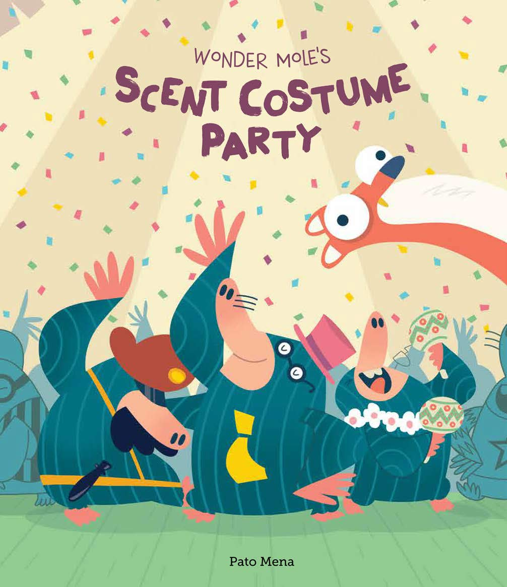 Wonder Mole's Scent Costume Party