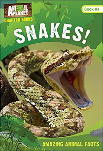 Animal Planet Chapter Book: Snakes!