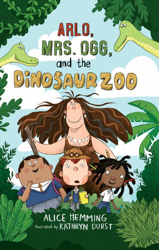 Arlo, Mrs. Ogg, and the Dinosaur Zoo (Class X)