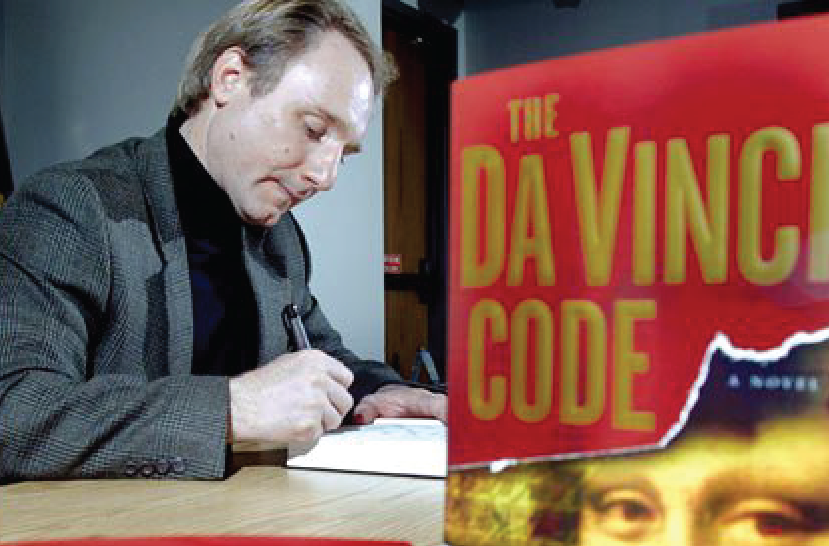 Q&A with Dan Brown for THE DA VINCI CODE (The Young Adult Adaptation)