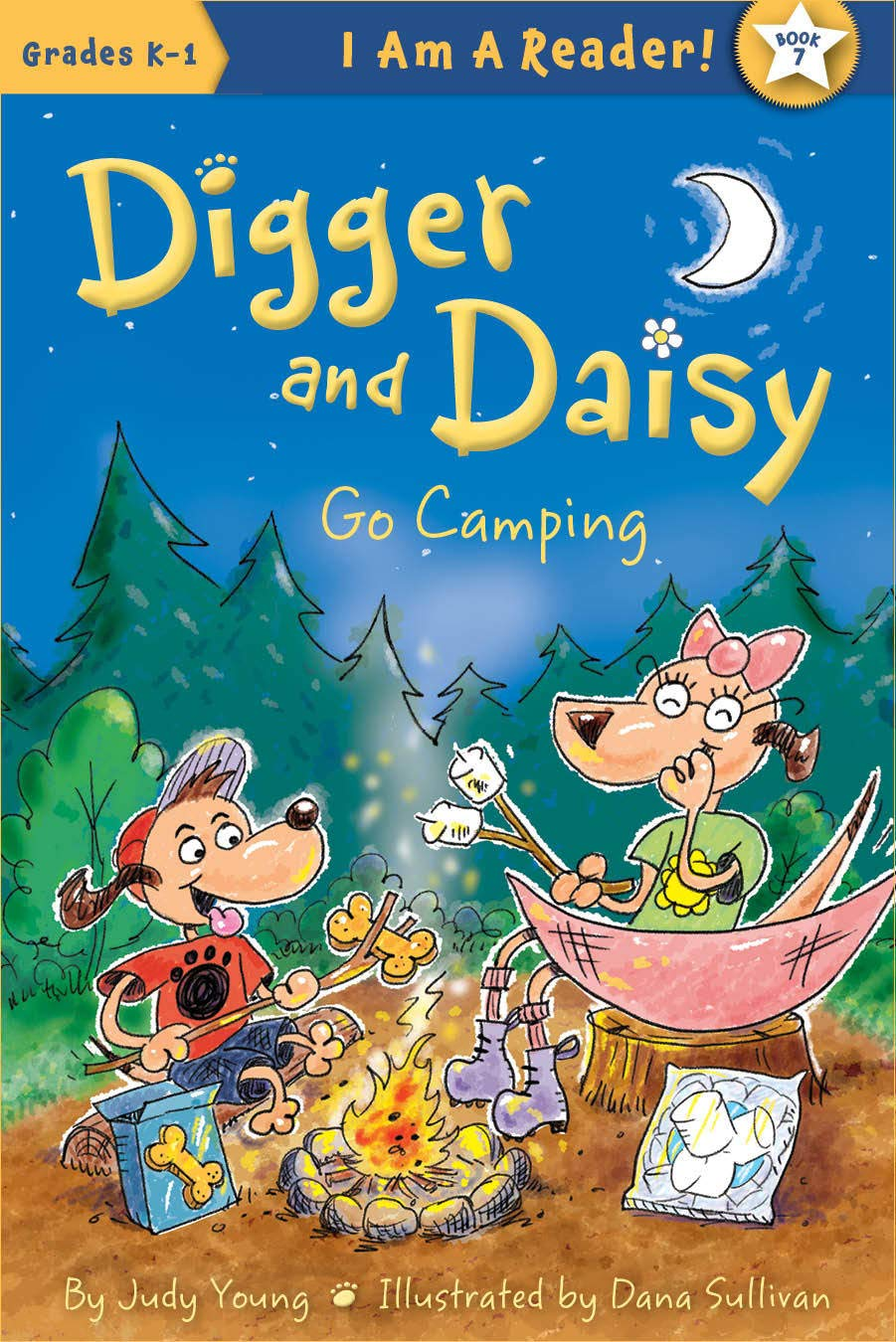 Digger and Daisy Go Camping (I AM A READER: Digger and Daisy)