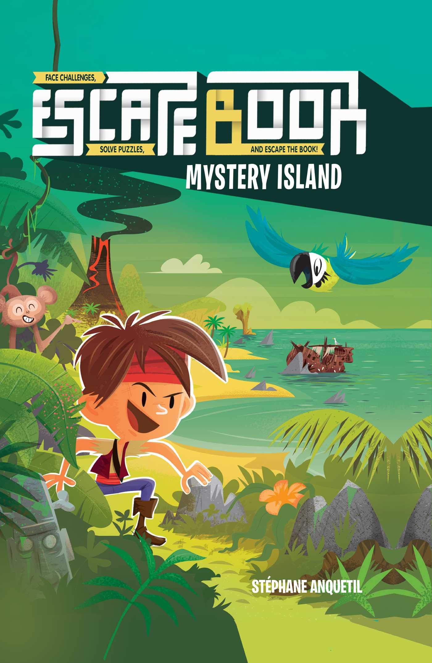Escape Book: Mystery Island (Volume 2)