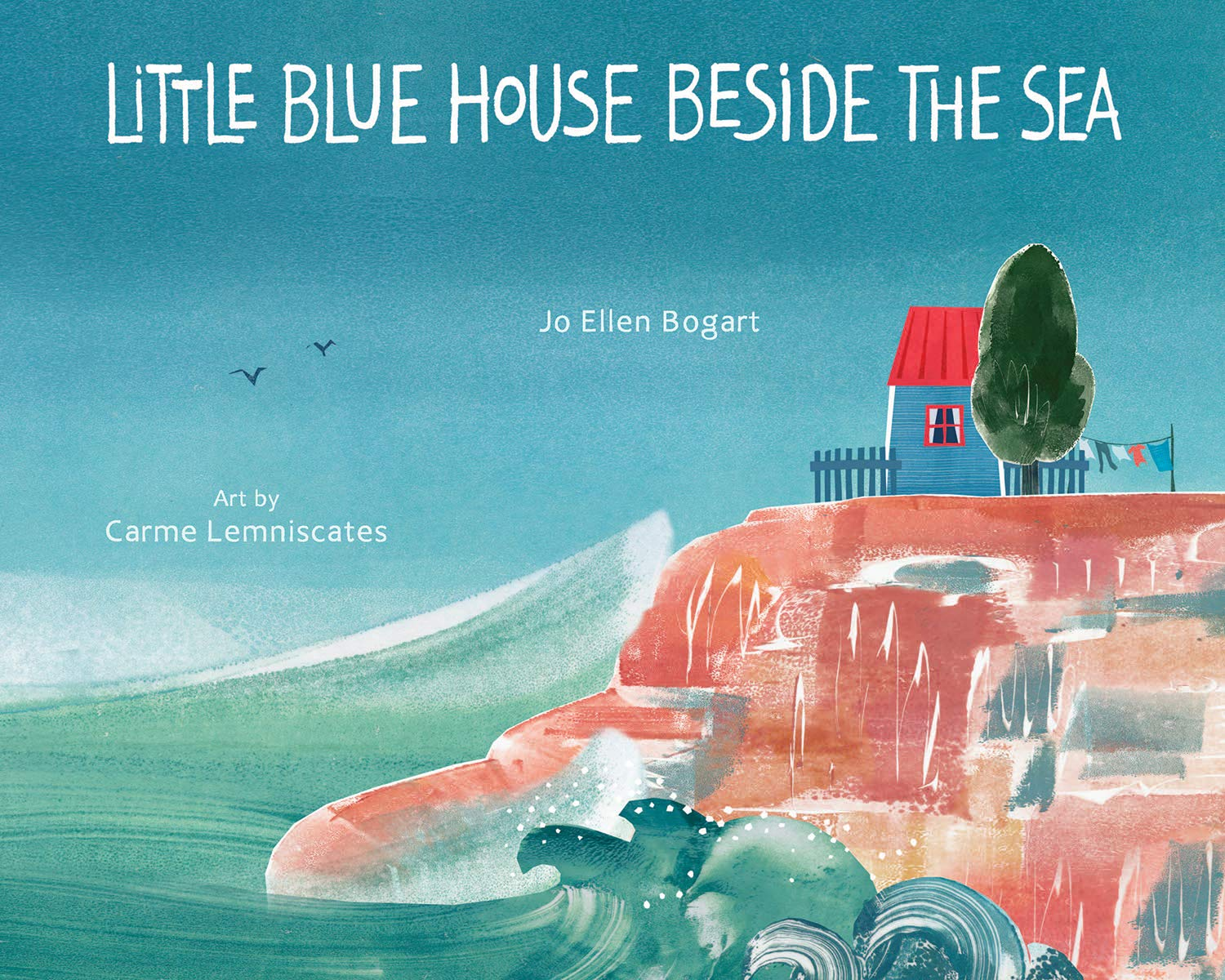 Little Blue House Beside the Sea
