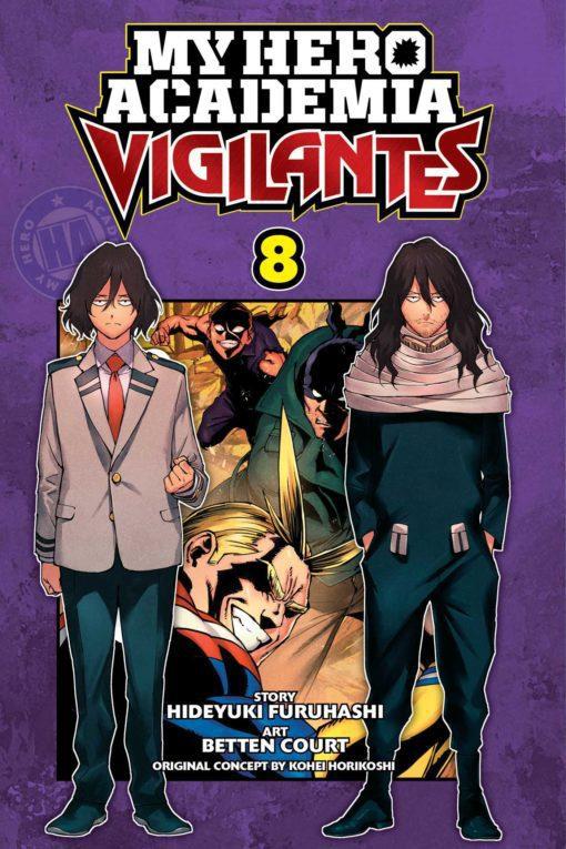 My Hero Academia: Vigilantes, Vol. 8 (8)