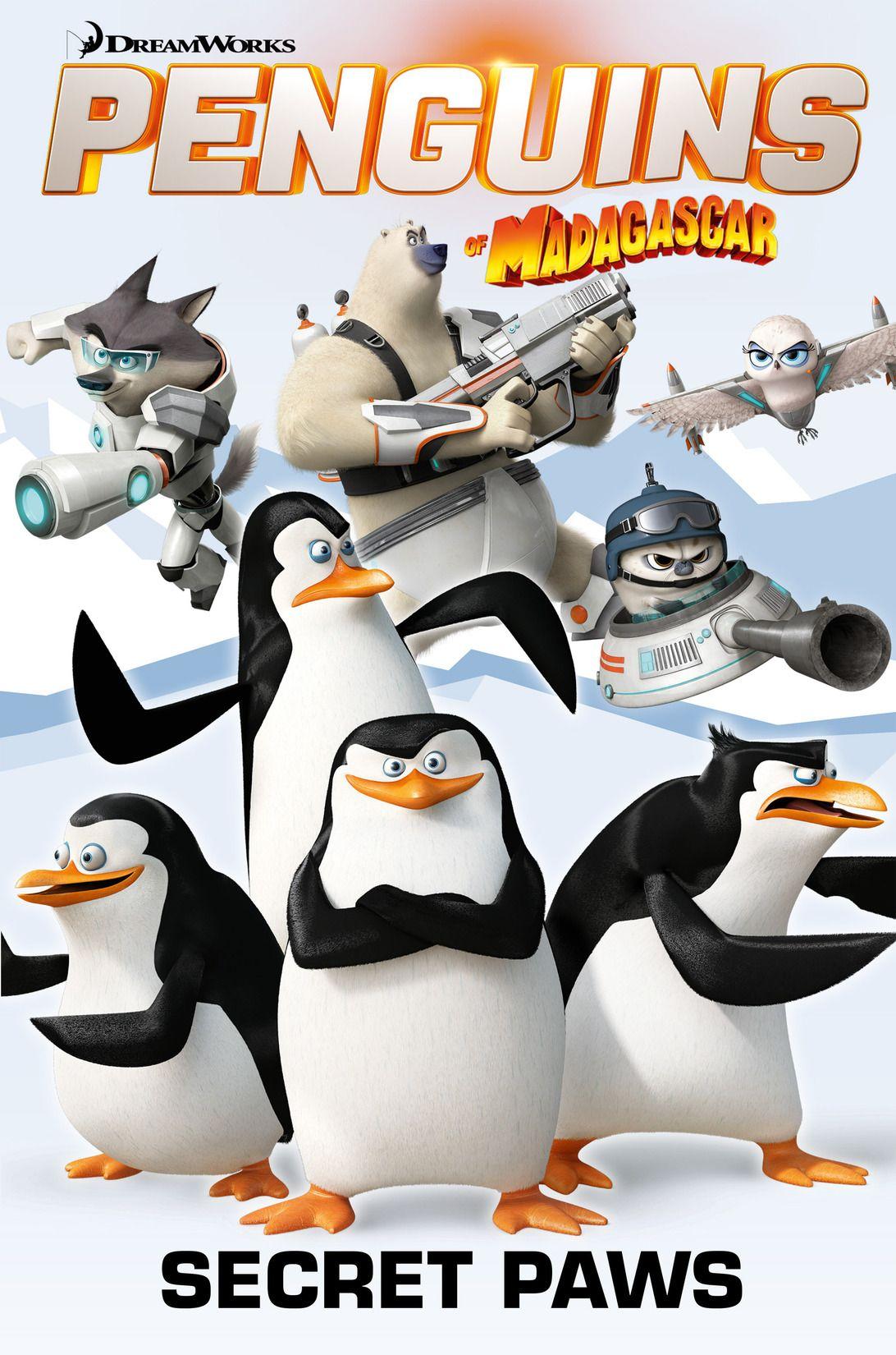 penguins of madagascar vol 4 - secret paws - kids' bookbuzz