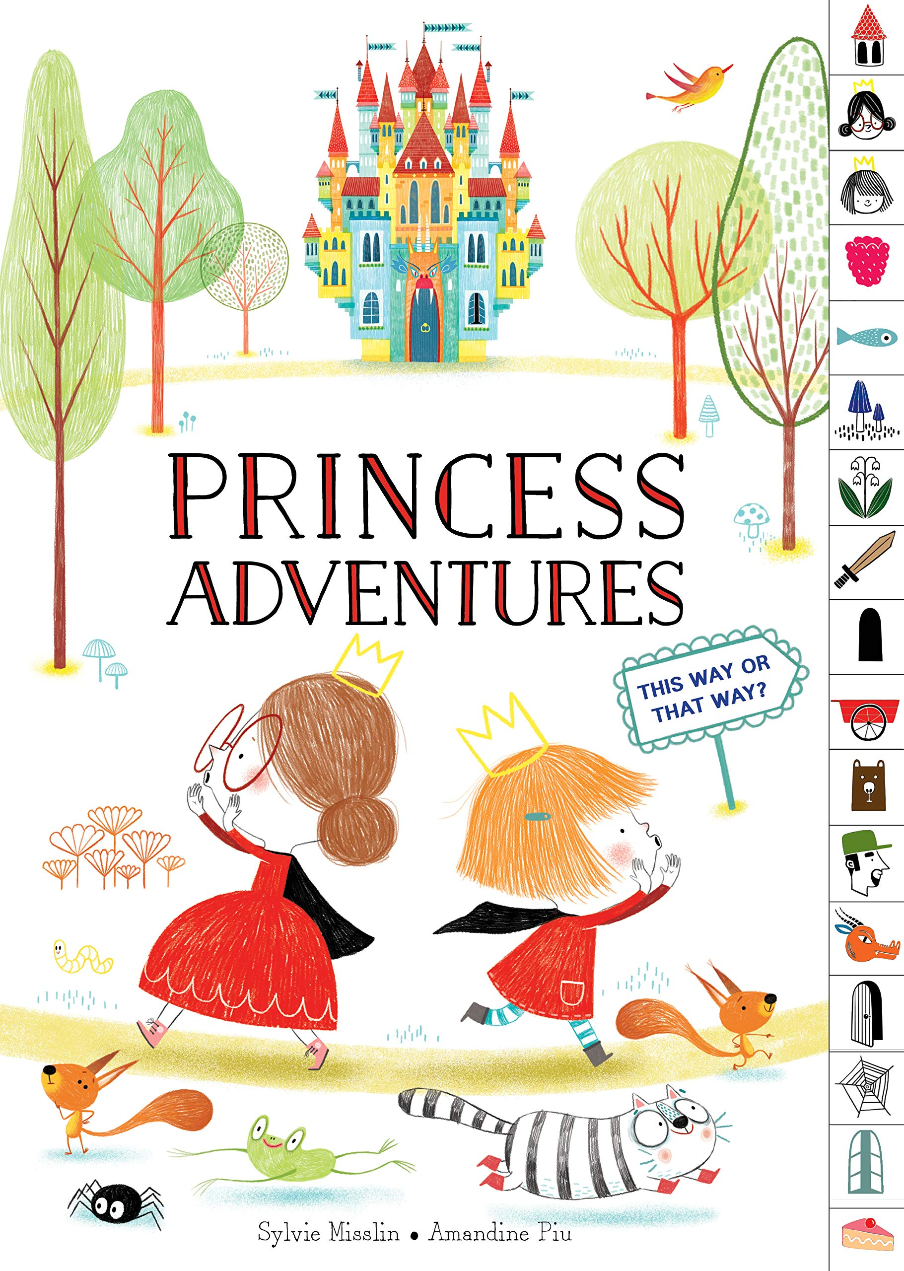 Princess Adventures: This Way or That Way? (tabbed find-your-way picture book)