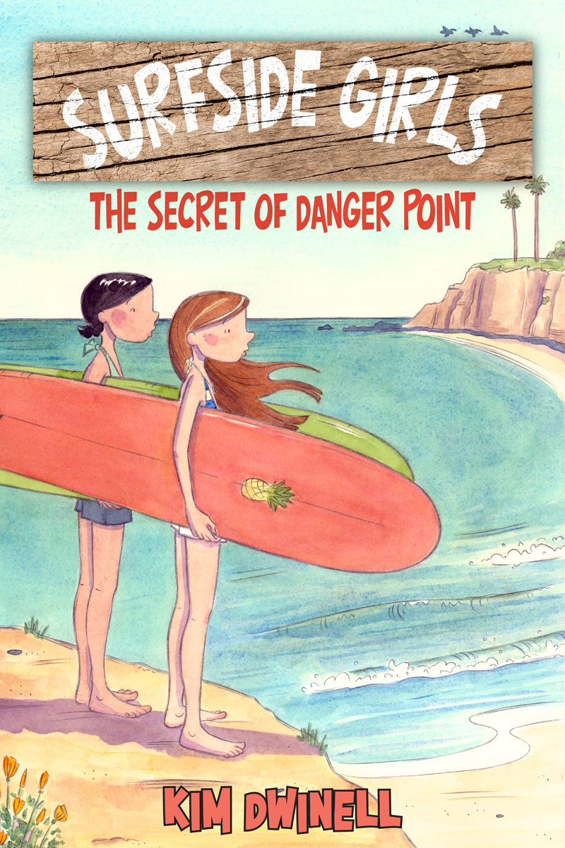 Surfside Girls, Book One: The Secret of Danger Point