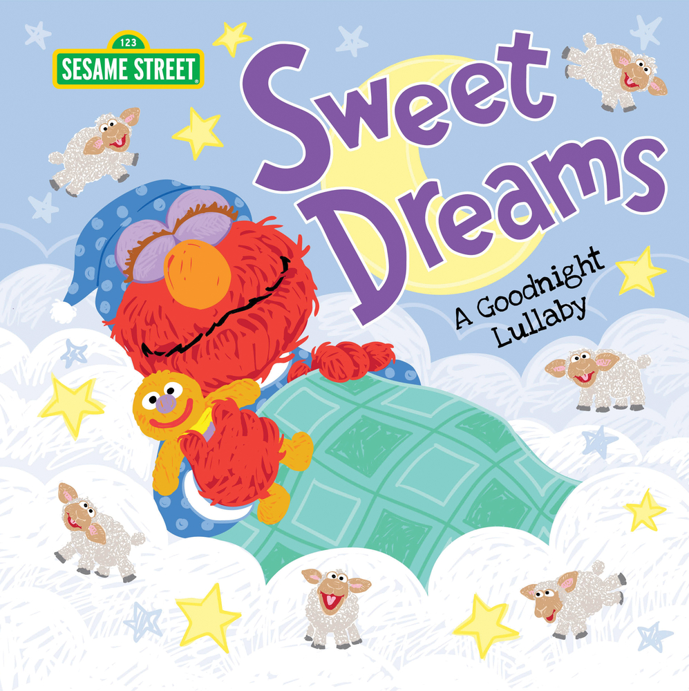 Sweet Dreams: A Goodnight Lullaby (Sesame Street Scribbles)