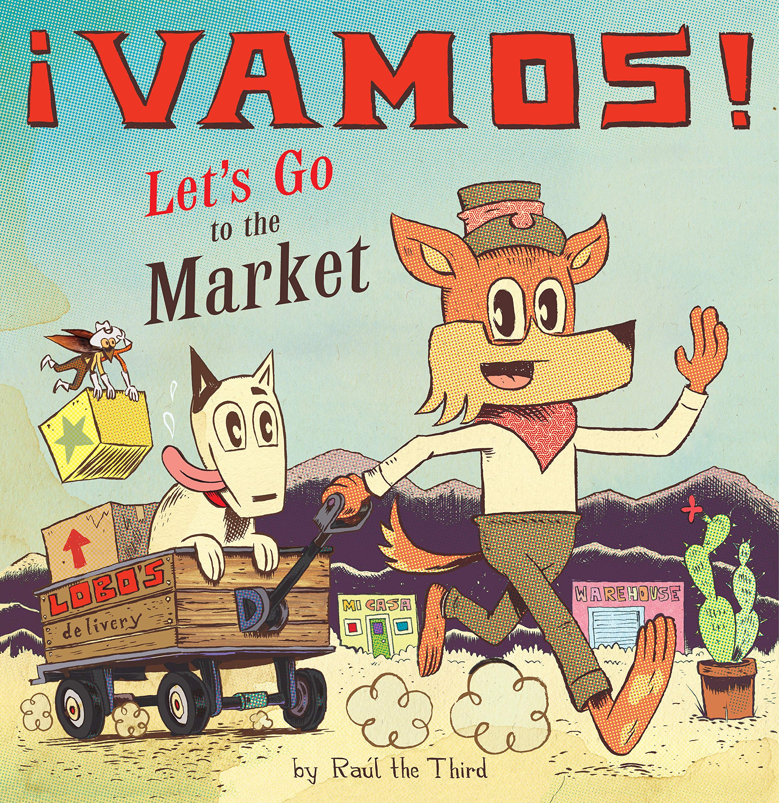 Vamos! Let's Go to the Market (English and Spanish Edition)